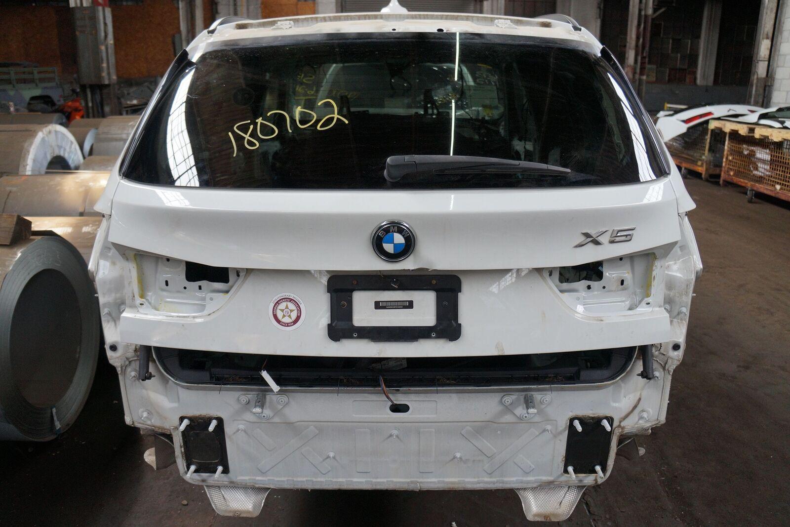 Rear Upper Trunk Lid Liftgate White 300 Oem Bmw X5 X5m F15 F85 2014 18 Note
