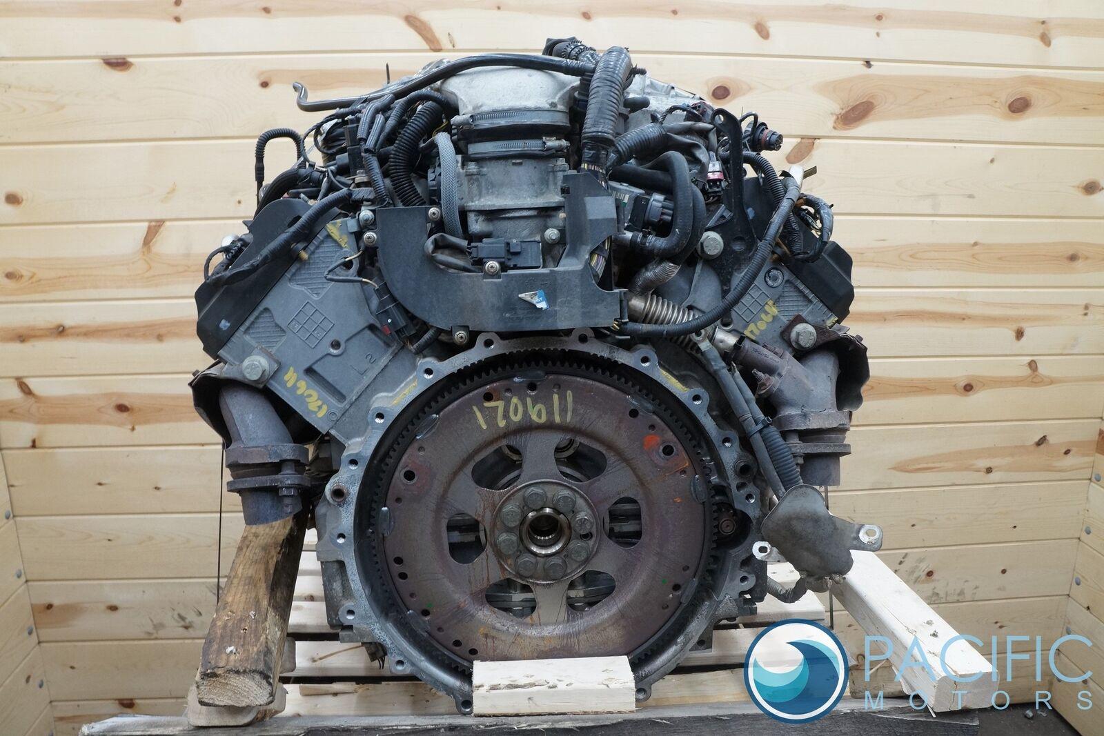 4 2l V8 Supercharged Engine Block Aj88509 Jaguar Xf Xj Xjr